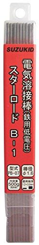 スズキッド(SUZUKID) B-1 1.6φ*230mm 500g PB-07