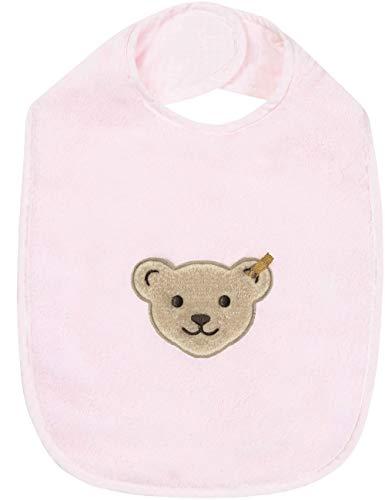 Steiff Baby Lätzchen extra groß mit Bär 2918 (Rosa (3005))