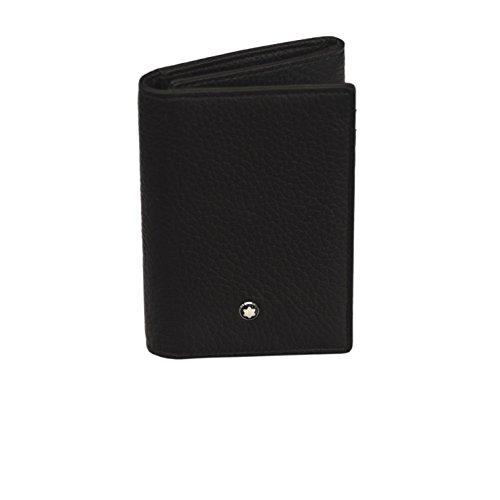 Montblanc Brand New Original Meisterstuck Soft Grain Trifold Mens Wallet 113011