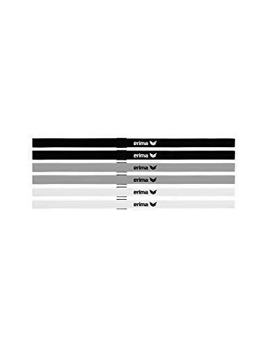 Erima Unisex– Erwachsene Haarbänder 6er Set, Diverse, 1
