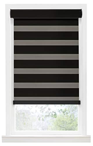 PowerSellerUSA Achim Home Furnishing Cordless Double-Layered Room Darkening Celestial Window Shade (43