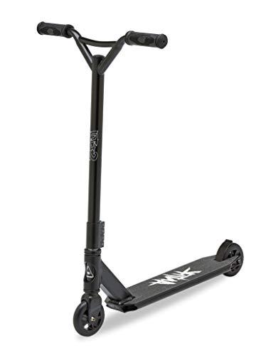Antik Scooter Freestyle - Patinete de acrobacias (Negro), Color Negro