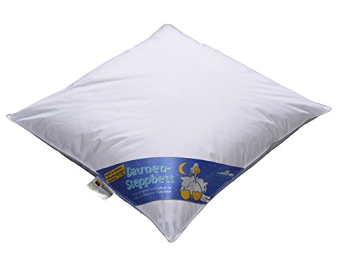 ARO Artländer 9043900 Nobless Baby-Bett, Sibirische weiße neu Gänsedaune 90% , Klasse 1, PREMIUMKLASSE, Größe 80 x 80 cm