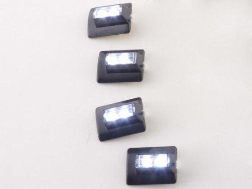 Armaturenbeleuchtung Micro LEDs Set (2 Stück) je 4 Sports mit je 1 LED, weiß