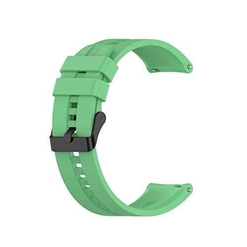 para GT2 Pro Correa Silicone Wamkband para Huawei Watch GT 2 GT 46mm / GT 2E / Honor Magic Band Sport Brazalet 22mm Pulsera (Color : 02 Green, Size : 22mm)