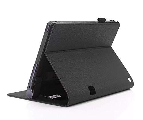 Funda de Cuero Flip Stand Lenovo Yoga Tab3 Tab 3 Plus YT-X703F / Yoga3 Pro X90F / L Cubierta de Tableta de 10.1 Pulgadas-Negro