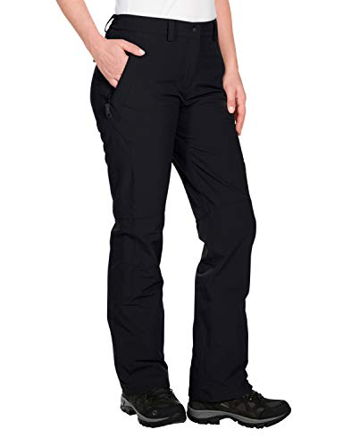 Jack Wolfskin Damen Softshellhose Activate, black, 40, 1500072-6001040