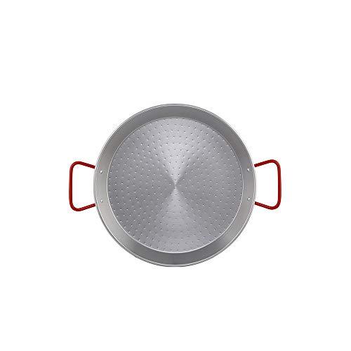 Metaltex - Paellera Acero Pulido 2 Raciones 26 cm