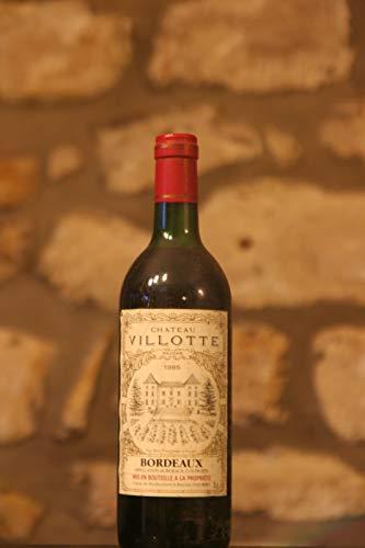 Rotwein, Château Villotte 1985