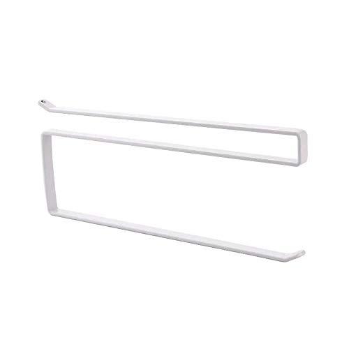 Gobesty Cabinet Paper Towel Holder, Under Cabinet Paper Roll Holder Rack...