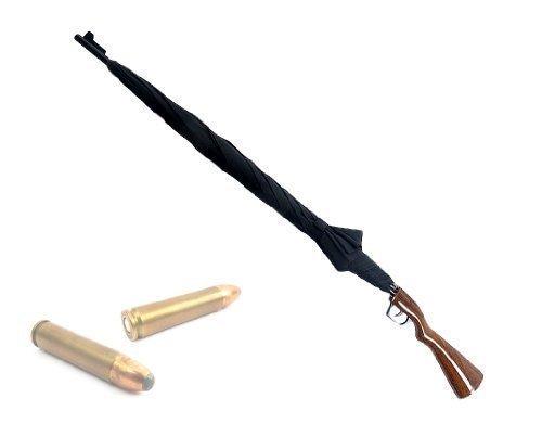 Regenschirm Gewehr schwarz