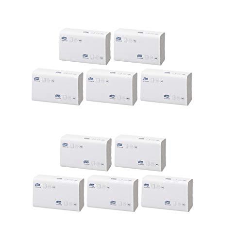 Tork 150299 Xpress Multifold Papierhandtücher H2 Universal in Weiß - Falthandtücher 2-lagig - Handtuchpapier doppelt gefalzt für Spender - 10 x 237 Papier Tücher (23,4 x 21.3 cm)