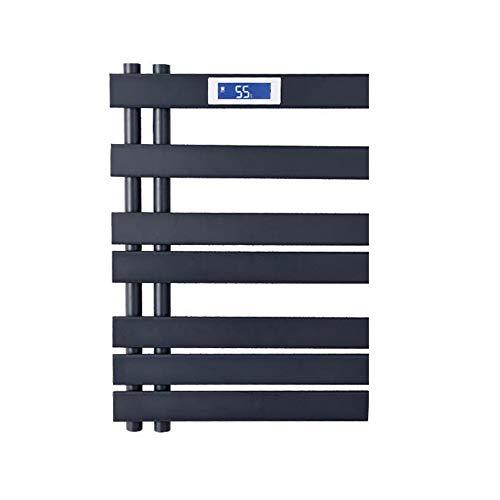 YOGANHJAT Toallero eléctrico Pared 7 Bars Warm Secado Consumo Calentador 110W Radiador...