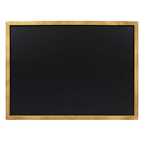 "Large Chalk Boards with Frame by VersaChalk (18x24"" Industrial, Porcelain) Framed Chalkboard Sign for Business, Bistro Bar, Sandwich Menu, Sidewalk, Signage Classroom, Wedding"