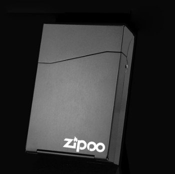 Etui cigarette Porte rangement Titulaire Zippo Lisse