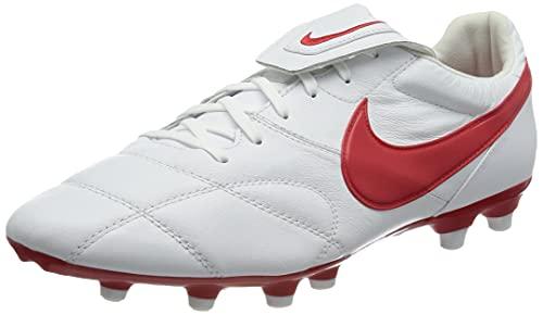 Nike The Premier II FG, Scarpe da Calcio Uomo, White/Univ Red, 44 EU