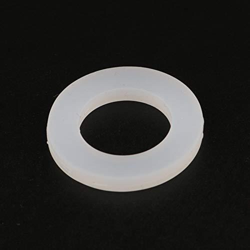 JINchao-Arandela de sellado de junta tórica Lavadora de plomería anillo de la arandela de la arandela del sello de la junta tórica de 10 unids, 1/4 '3/8' 1/2 '3/4' 1 '20-50 mm Junta plana de silicona,