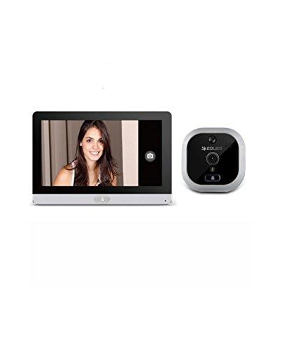 Eques R22S Telecamera Spioncino Digitale Wifi Con Schermo...