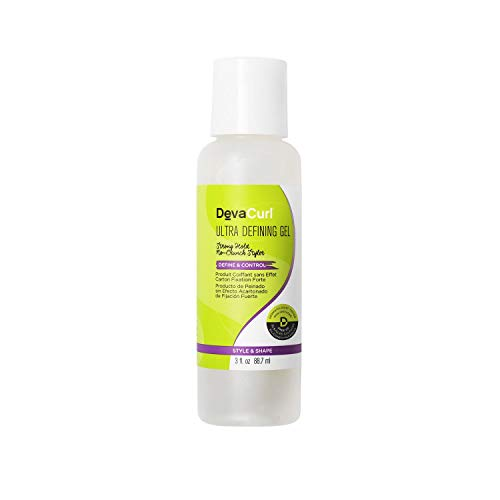 DevaCurl Devacurl Ultra Defining Gel; Control Curly Hair Tapones para los oídos 5 Centimeters Negro (Black)