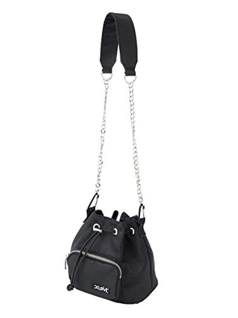 単調な分布課税X-girl(エックスガール)BUCKET SHOULDER BAG
