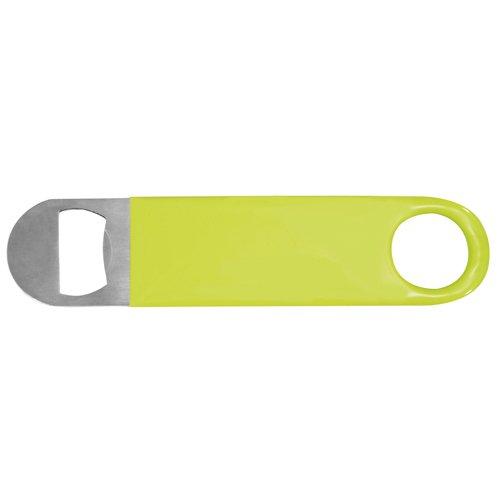 Verdadera invenciones botella abridor de fácil agarre de acero inoxidable pack de 1 verde