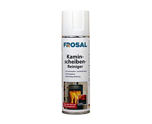 Frosal Kaminscheiben-Reiniger Schaum Spray   Hochleistungs Ofenglas-Reiniger   Kaminreiniger   Profi Ofenreiniger   Kaminglas-Reiniger 1 Stück