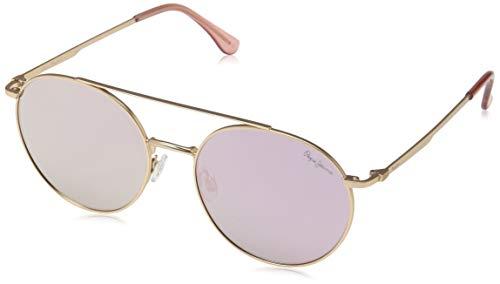Pepe Jeans Remi Gafas de sol, Dorado (Rose Gold/Pink), 53.0 Unisex Adulto