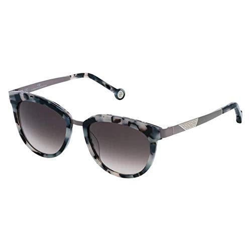 Carolina Herrera SHE7485209BB Gafas, HAVANA WHITE/BLACK, 52/18/135 para Mujer