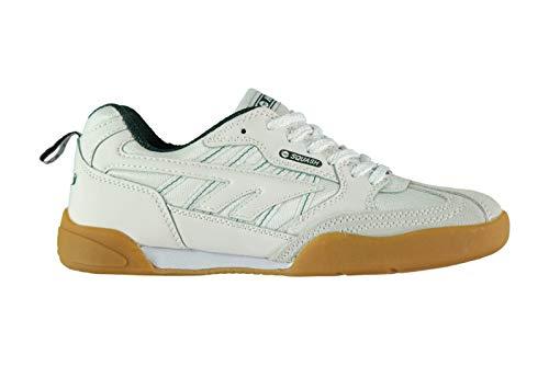 Hi Tec Squash Herren Schuhe Indoor Turnschuhe Sportschuhe Sneaker Hallenschuhe White/Green 14