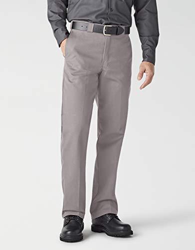 Dickies Herren Slim Straight Work Pants Sporthose, Silber metallic, 34W x 36L