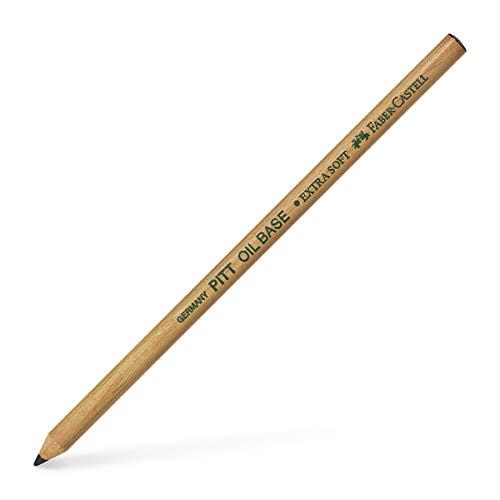 Faber-Castell PITT - Lápiz monocromático para artistas, negro, base de aceite, n. - � 1, extra suave