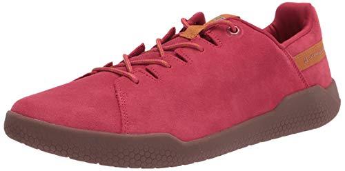 Caterpillar unisex adult Code Hex X-lace Sneaker, Red, 10.5 Women Men US
