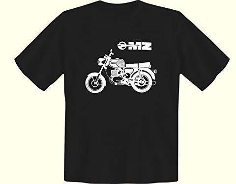 Ostprodukte-Versand.de Tshirt MZ Modell TS schwarz - Ossi Artikel - für Ostalgiker - DDR Produkte