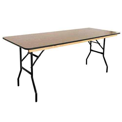 Table pliante 180 cm en bois