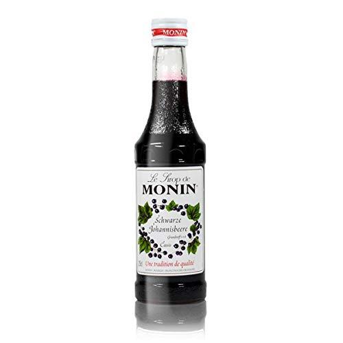 Monin Cassis (schwarze Johannisbeere) Sirup 0,25 Liter