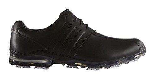 adidas adidas Herren Adipure TP Golfschuhe, Schwarz (CoreBlack/CoreBlack/darksilvermetallic), 47 1/3 EU