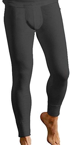 Socks Uwear Herren Lange Unterhosen Unterhose, Einfarbig * One Size Gr. XL, schwarz