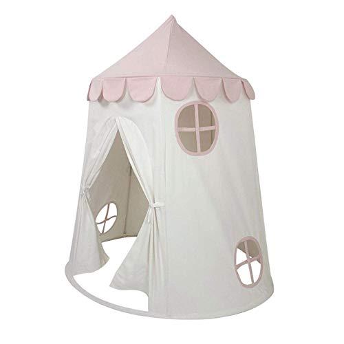 Kleinkind Spielzeug, Prinzessin Zelt, 100 atmungsaktive Baumwoll-Leinwand für Haltbarkeit und Sicherheit für Ihr Kind Kinder TEEPEE PLAY Zelt Kinder groß für 1. Geburtstagsgeschenke für Mädchen Kleink