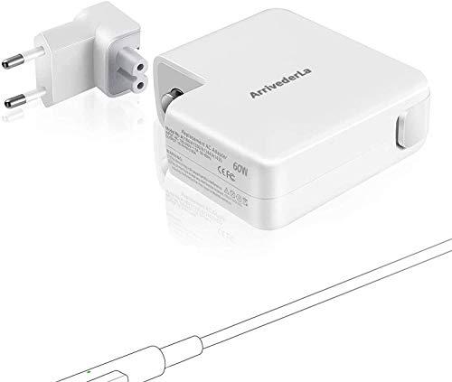 Compatibile con Mac 60W Magnetico Caricatore, con Connettore a L Dopo, Sostituzione Adattatore Per Mac Pro 13 Pollici (Prima di metà 2012)-A1278, Mac 13' (Dalla fine del 2009) - A1181, etc.