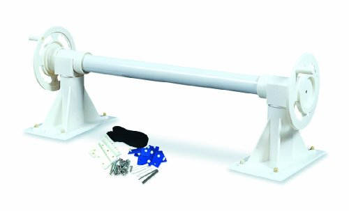 HydroTools In-Ground Pool Solar Blanket Roller Reel System