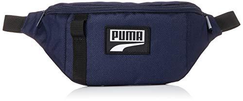 PUMA Deck Waist Bag Riñonera, Unisex Adulto, Peacoat, OSFA