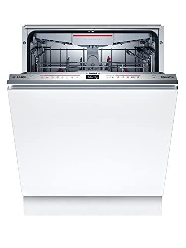 Bosch Elettrodomestici Lavastoviglie Incasso a Scomparsa Totale, Serie 6, Silenziosa, di Facile Installazione, Veloce e Facile, 60 cm, 14 Litri, Inox