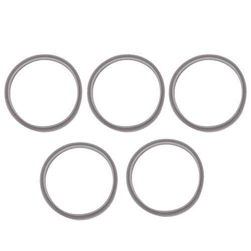 TOPINCN 5pcs Waterproof O Shaped Seal Ring Gasket Replacement Fit 600w/900w Juicer Blade Holder Accessories