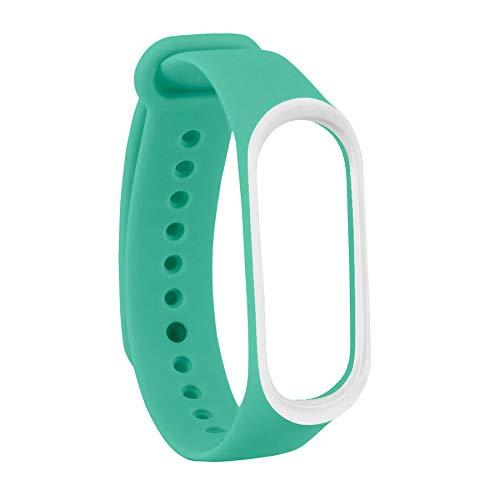 Vendopoli Recambio para Pulsera Actividad XIAOMI MI Band 3/MI Band 4 Bicolor Silicona Colores SMARTWATCH MIBAND Correa Reloj