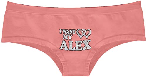 "| Cool Panties | I Want My Alex| The ""Light"" Option is a Random Color Choice (White, Yellow, Coral)."