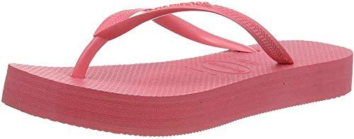Havaianas Slim Flatform, Infradito Donna, Rosa (Pink Porcelain 7600), 37/38 EU