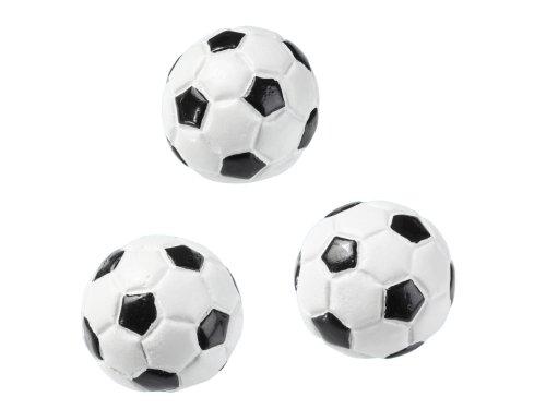 CREApop® Fussball 2 cm halb, Btl. à 3 St.