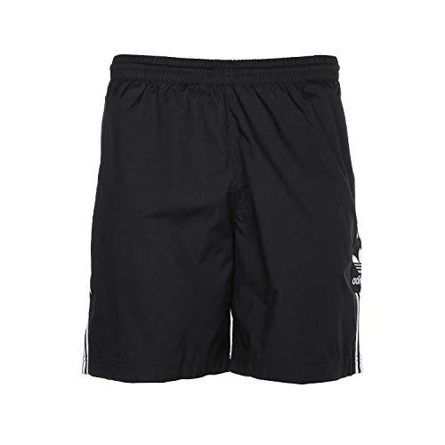 adidas Originals Men's Lock Up Track Shorts, Black, L