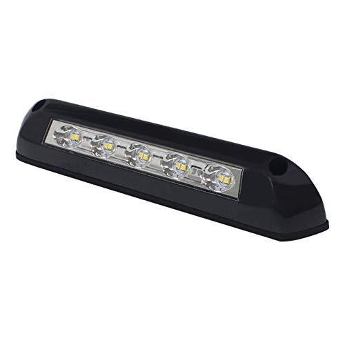 BIlinli 12V LED Toldo Luz de Porche Impermeable Autocaravana Caravana Lámparas de Pared Interior Barra de luz RV Camper Remolque Lámpara Exterior