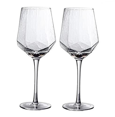 DDTT Mini Copas de Cristal para Martini, 550 ml, Multiusos, Retro, Copa de Vino Tinto para Bar de Fiestas en casa, Apto para lavavajillas, Juego de 2,6pack